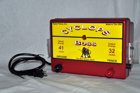 Cyclops BOSS Electric Fence Charger