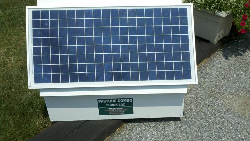 50 Watt Shock Box Solar Electric Fence Charger Kit Usa