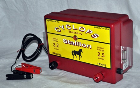 Cyclops Stallion 12v Battery Dc Powered 2 5 Joule