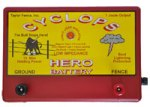 Cyclops HERO Battery Electric Fence Energizer.