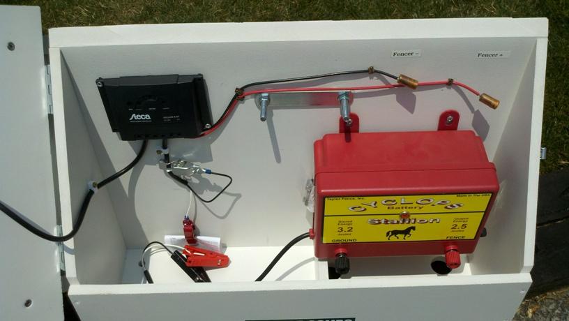 40 Watt Shock Box Solar Electric Fence Charger Kit Usa