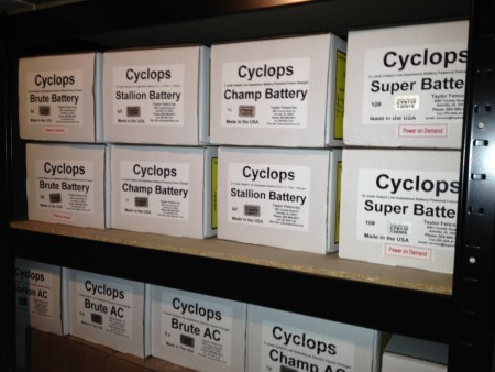 Cyclops Super 12v Battery Dc Powered 12 Joule Electric